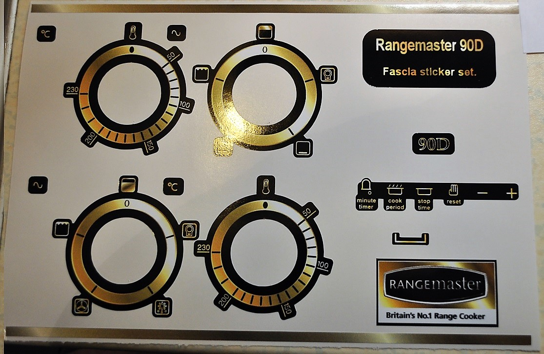Indesit Cooker Stickers