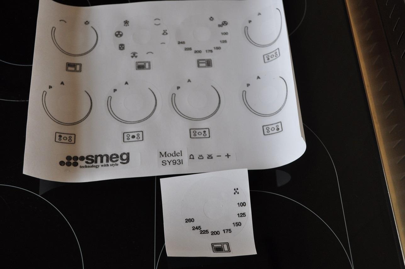 Lamona lam3300 fan oven oven decal stickers etc lam3300 999 smeg sy93i range oven fascia stickers biocorpaavc