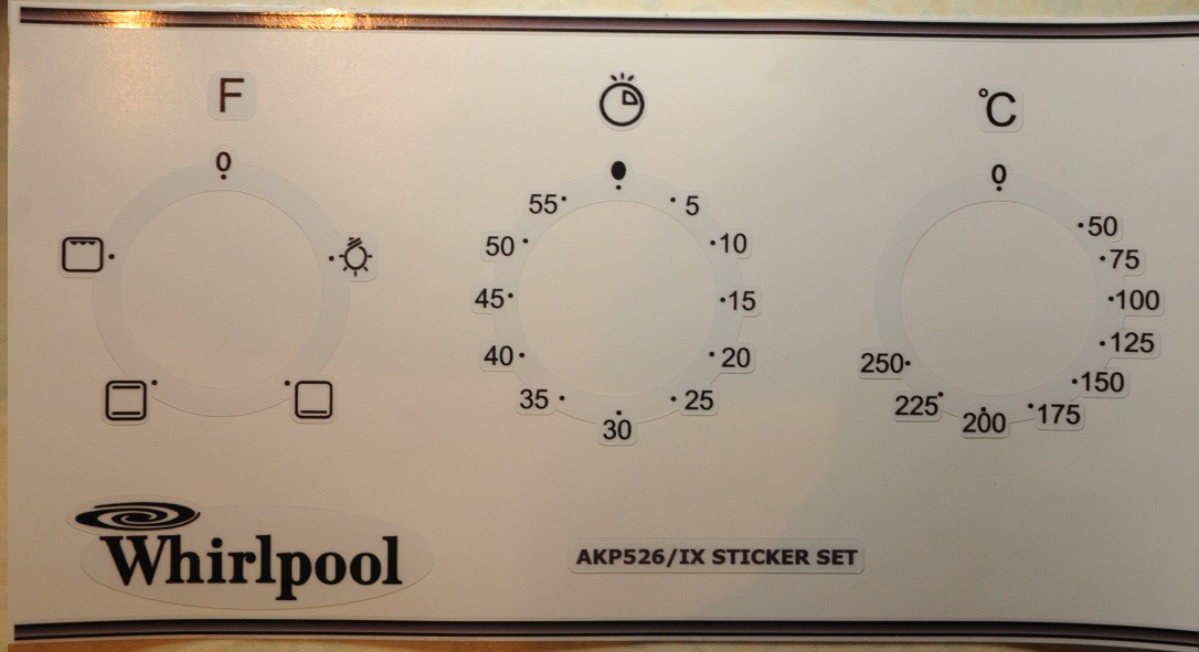 Whirlpool Essex Appliances Decal Sticker Sets