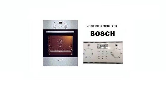 Bosch decal stickers.