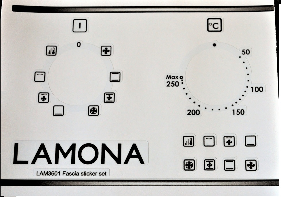 Lamona Essex Appliances Decal Sticker Sets